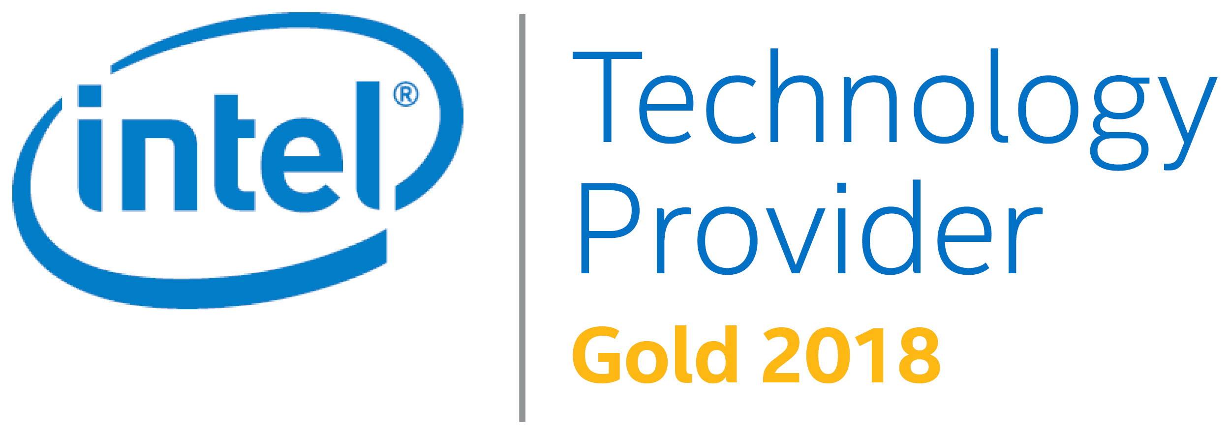 Gold партнер по программе Intel® Technology Provider 2018 года
